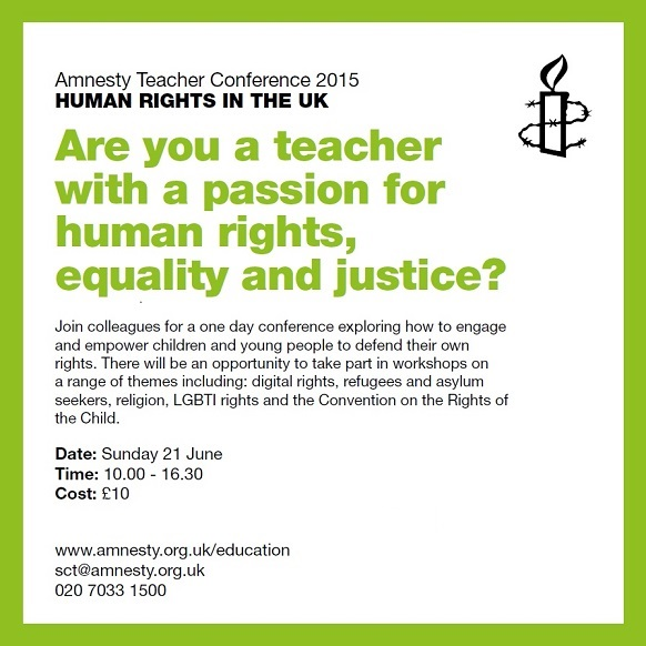 Amnesty Teacher Conference