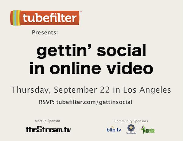 Tubefilter Meetup