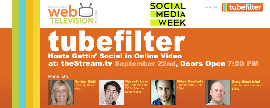 Tubefilter Presents Gettin' Social In Online Vide