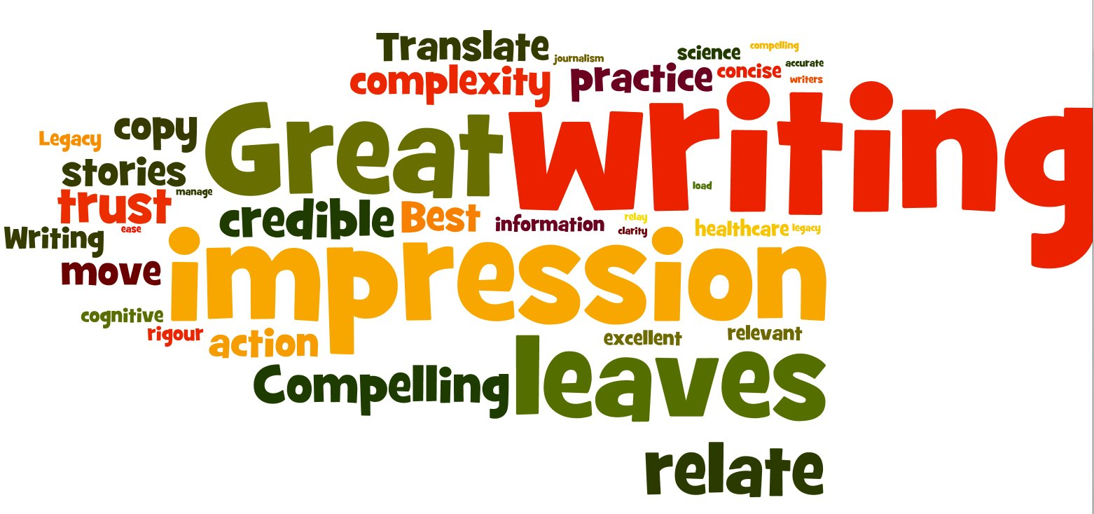 Great writing leaves an impression