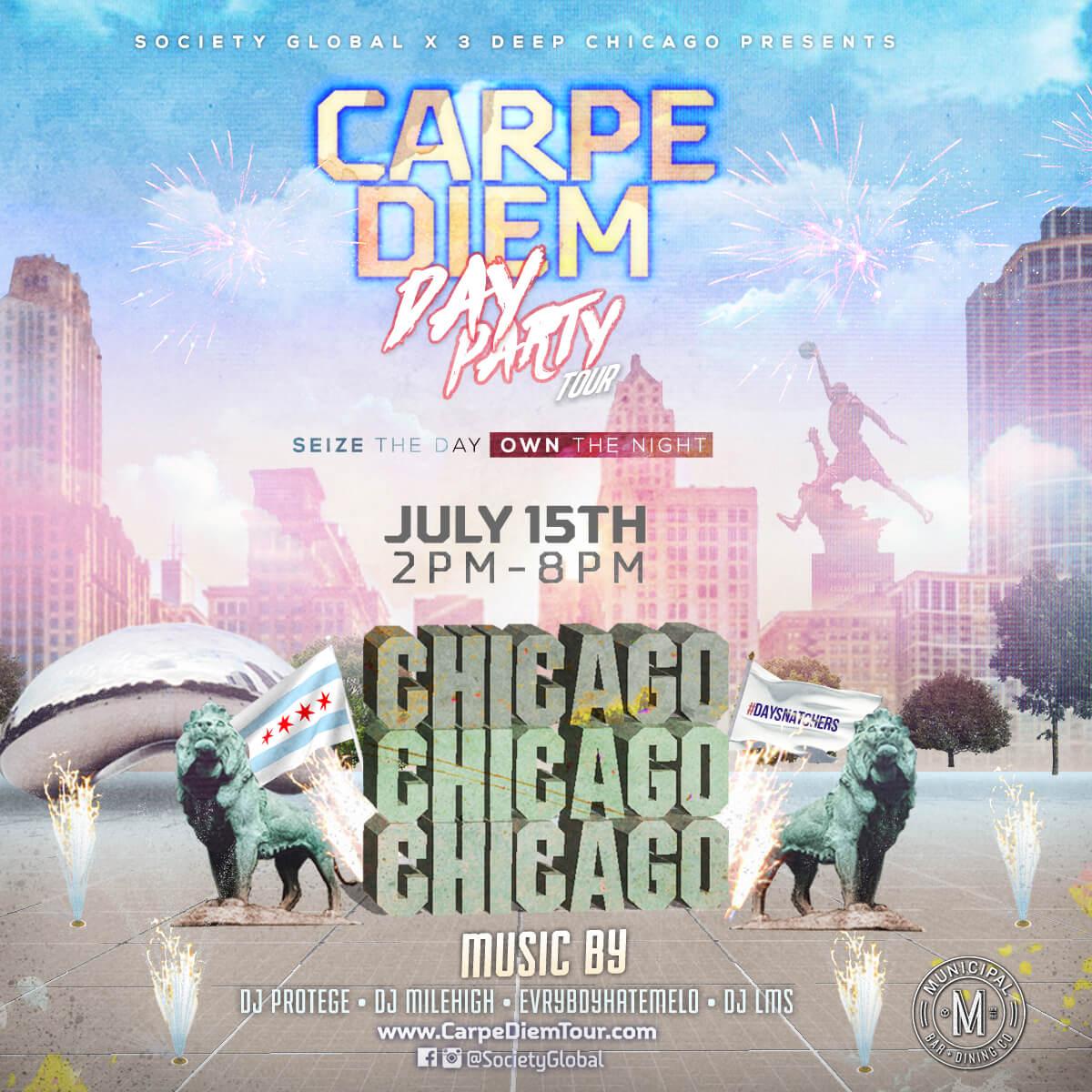 Carpe Diem: #DaySnatchers Day Party Tickets, Sat, Jul 15 ...