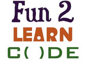 Fun 2 Learn Code logo