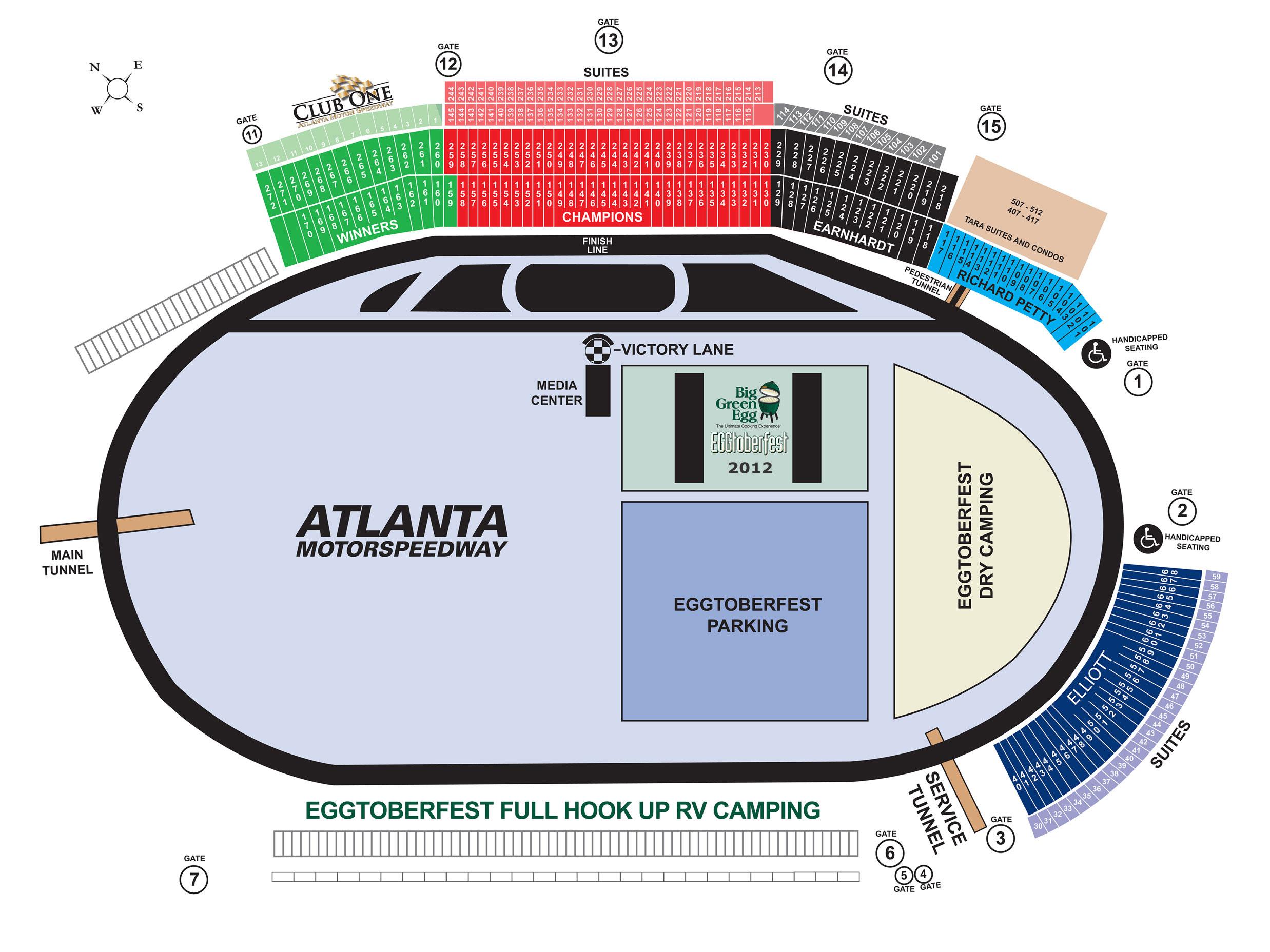 Eggtoberfest 2012 At Atlanta Motor Speedway Tickets Sat
