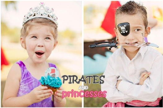 princess and pirate
