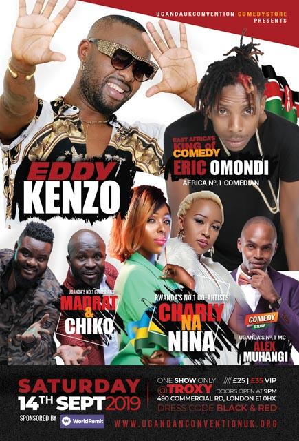 Kenzo Eric Omondo Charly Na Nina Madrat and Chiko