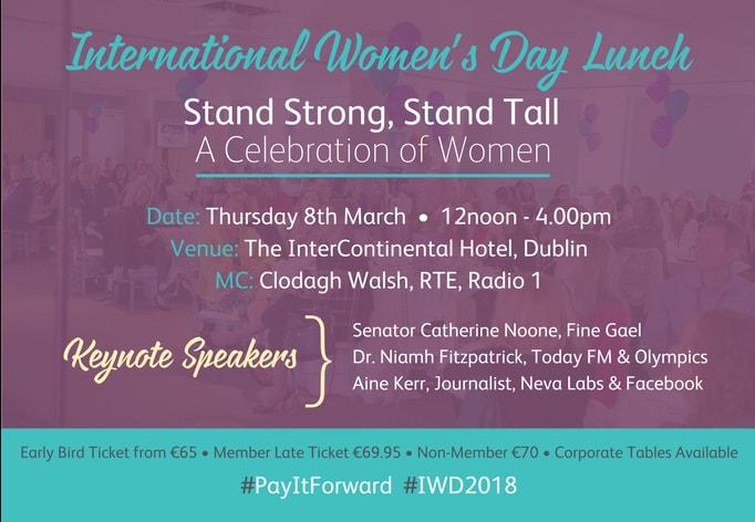Celebrate International Womens Day 2018 with Network Ireland