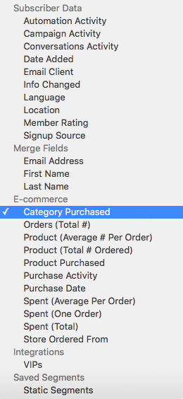 Learn to use segmentation to sell WooCommerce products from MailChimp