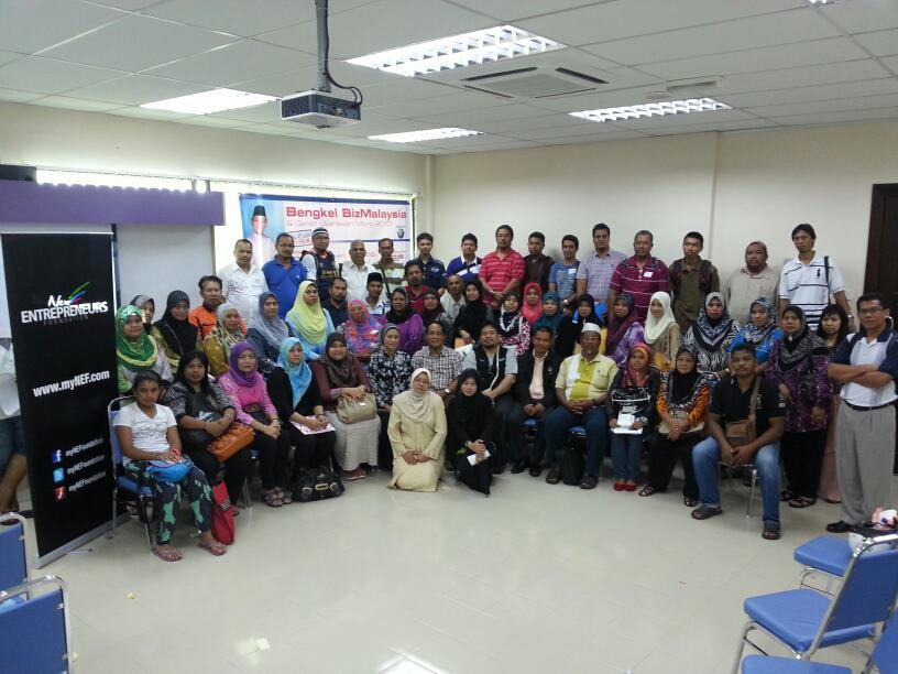Bengkel GMBO BizMalaysia-myNEF di UiTM Balik Pulau