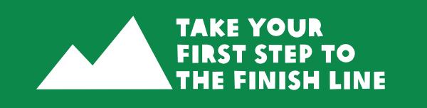 Oxfam Trailwalker mountain logo