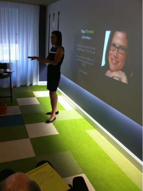 Maya Presenting in Washington DC