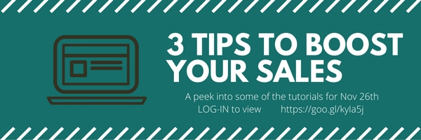 Tips to boost your sales