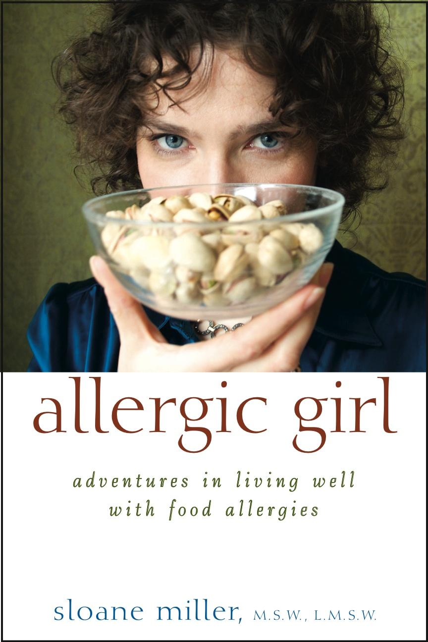 Allergic Girl Sloane Miller Book Cover Art