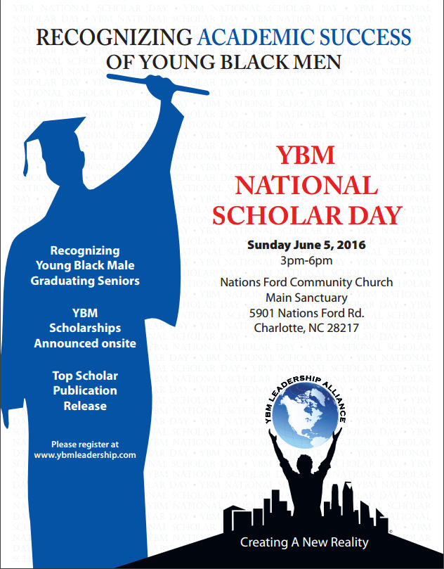 Recognizing College Bound Black Males on YBM Scholar Day