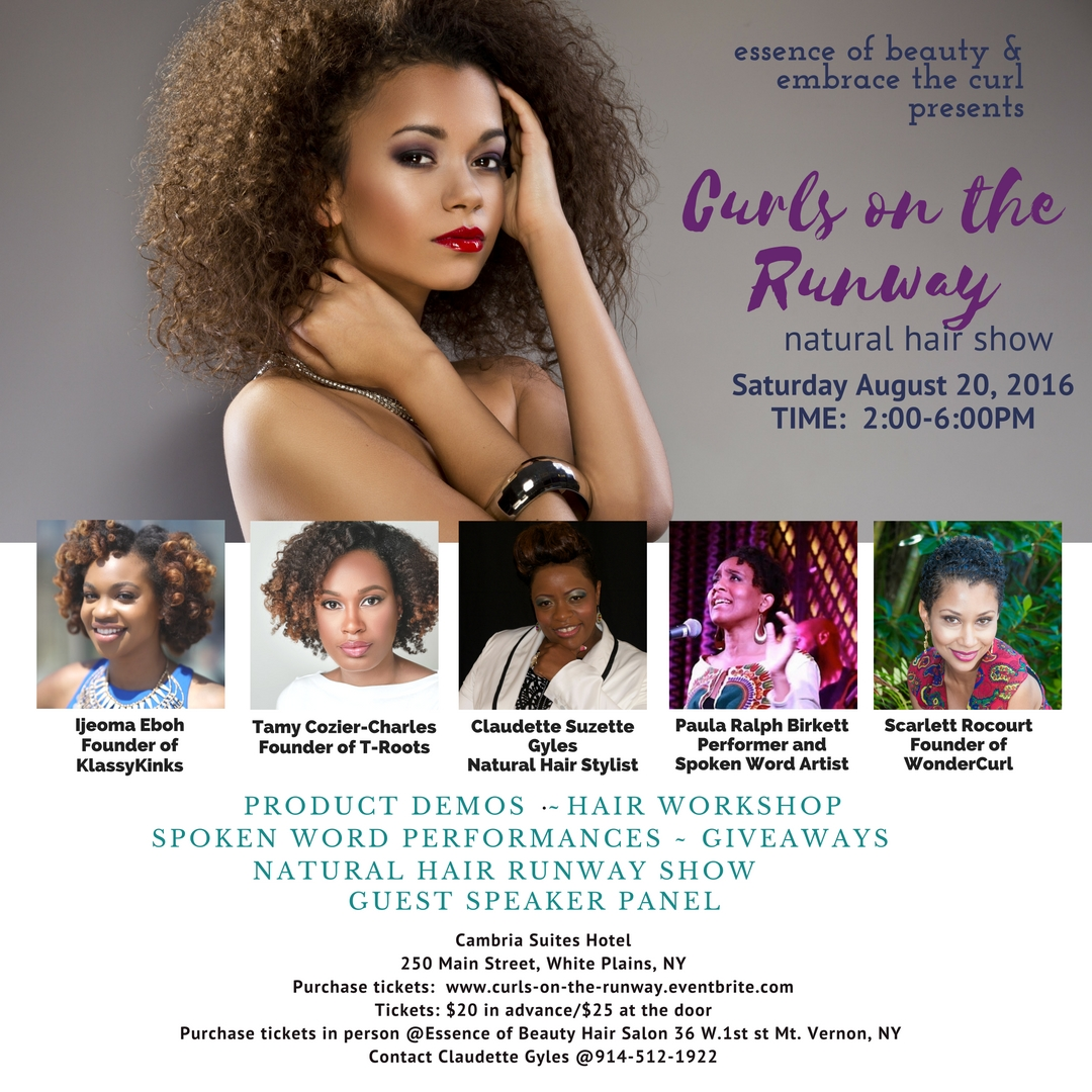 natural hair show with guest speakers