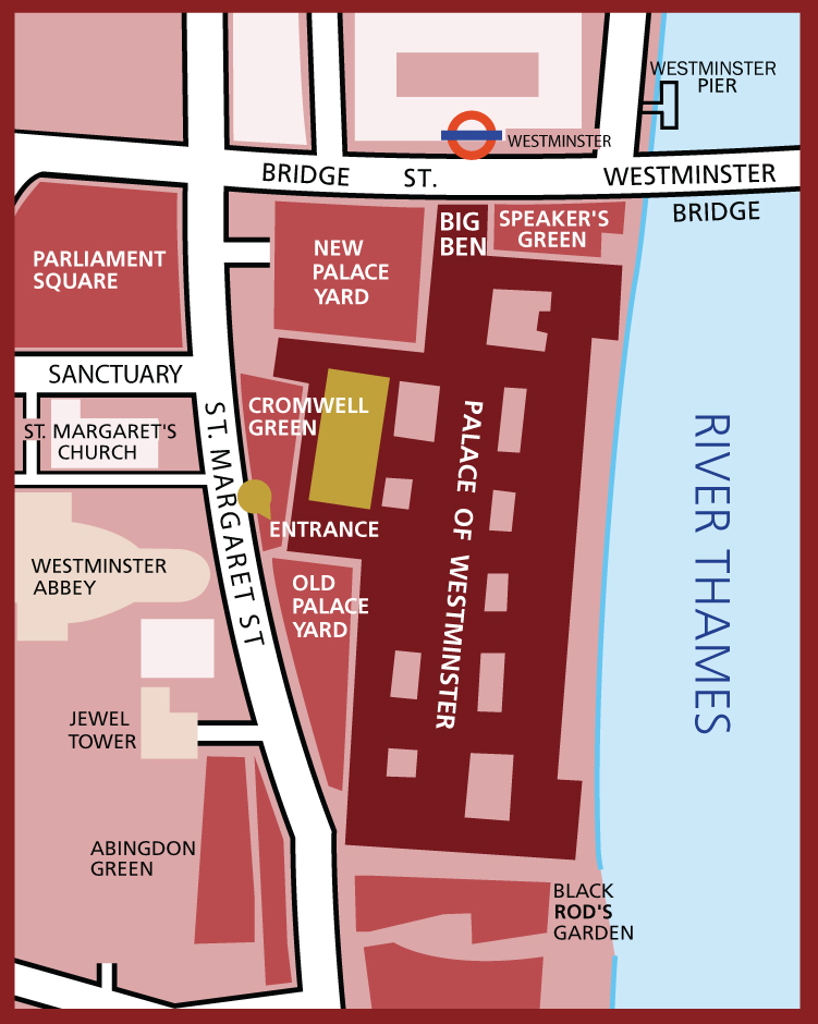 Map of Parliament