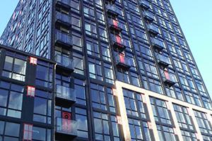 large building airtightness testing