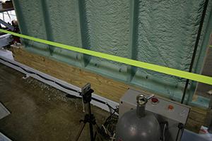 hybrid wall test