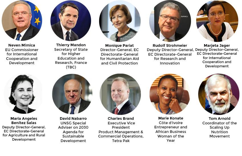 Panel speakers High Level Consultation