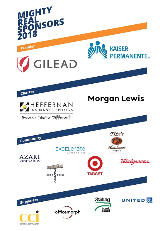 Mighty Real Gala Sponsors