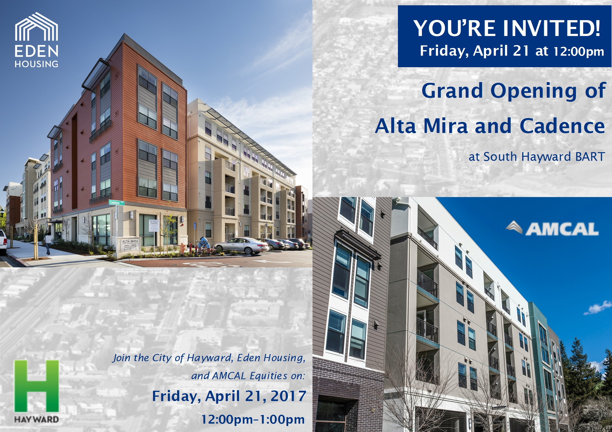 Grand Opening of Alta Mira and Cadence