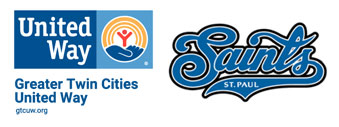 Greater Twin Cities United Way and St Paul Saints Logos