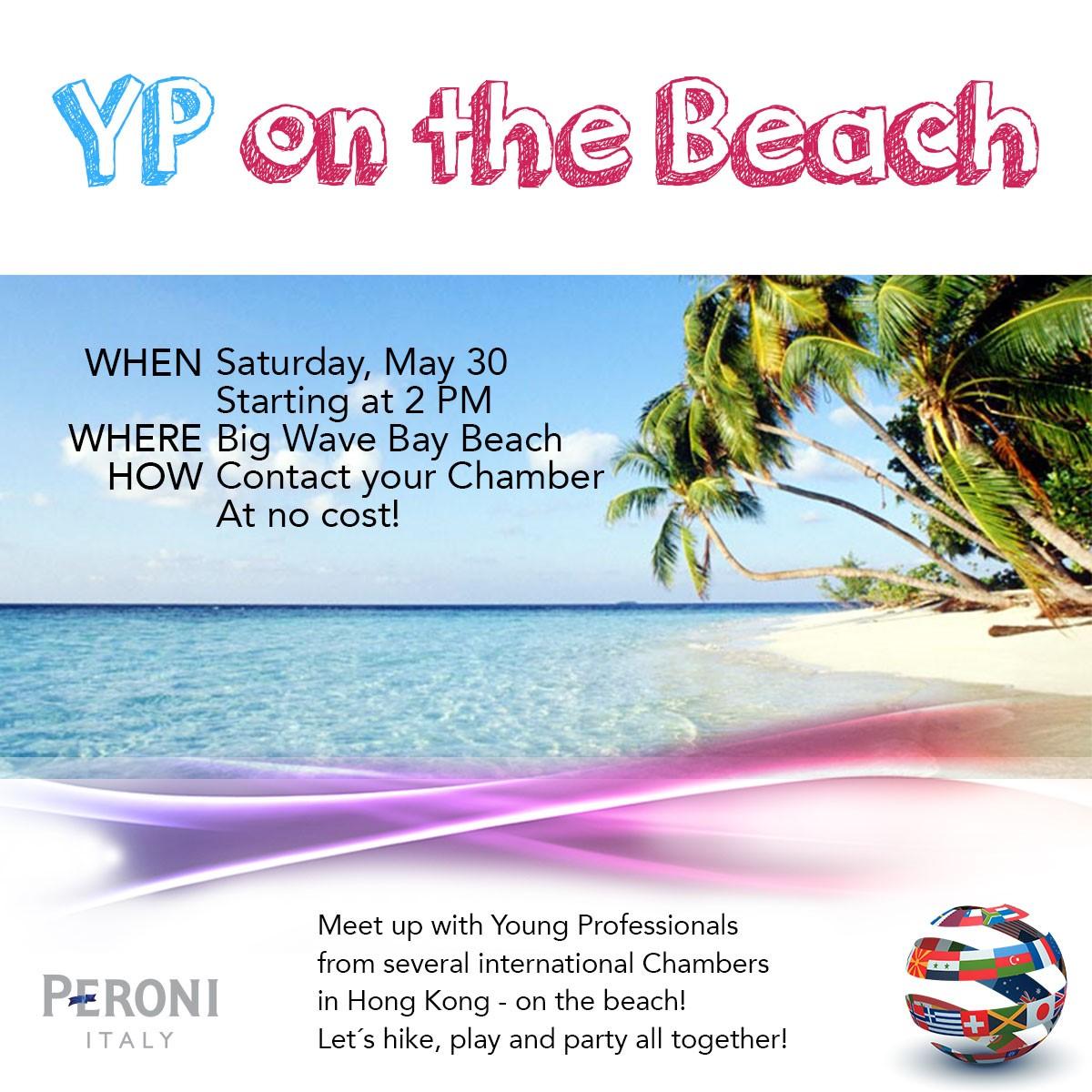 YP on the Beach