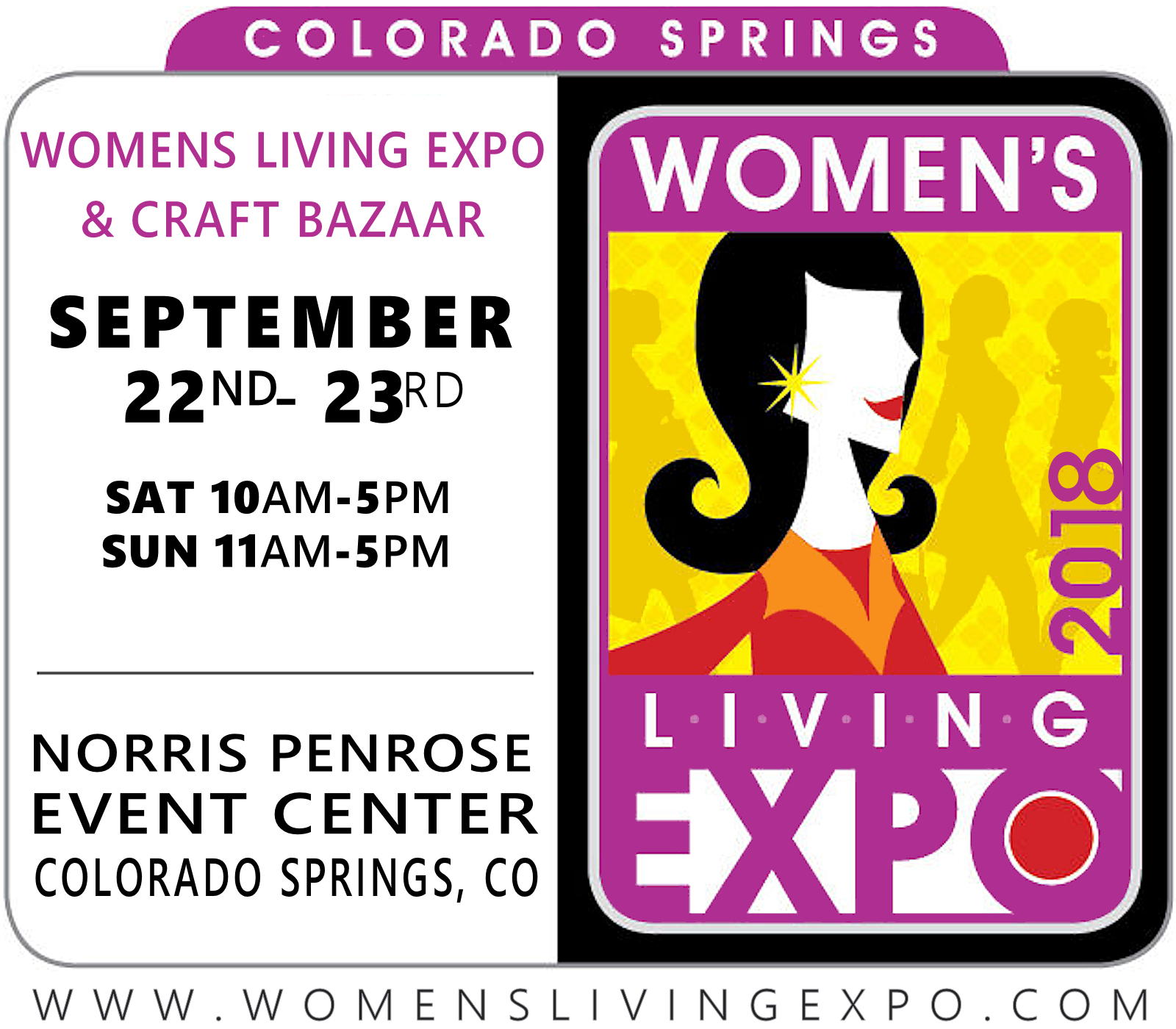 Colorado Springs Women's Living Expo 2018