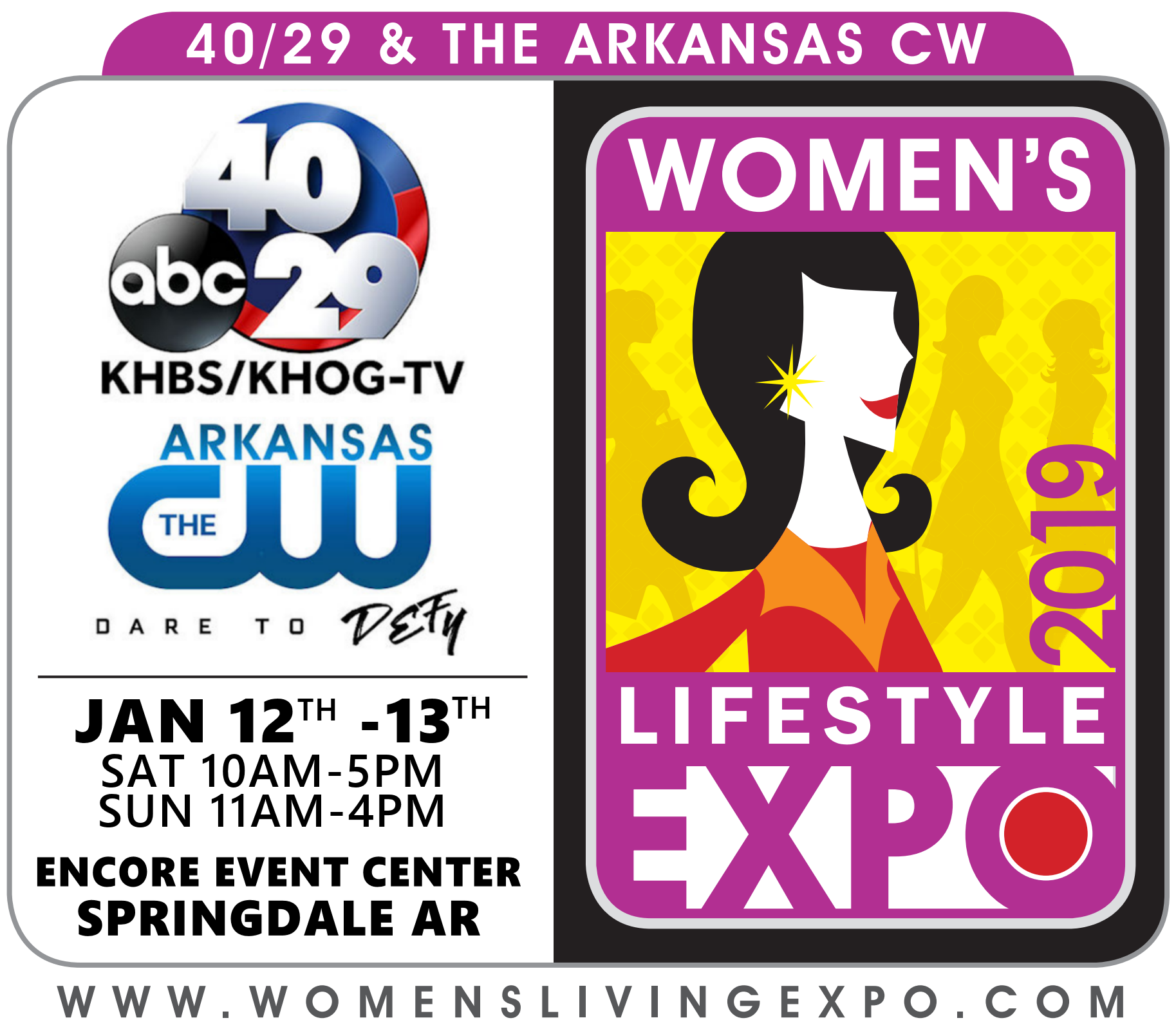Logo for the Women's Living Expo