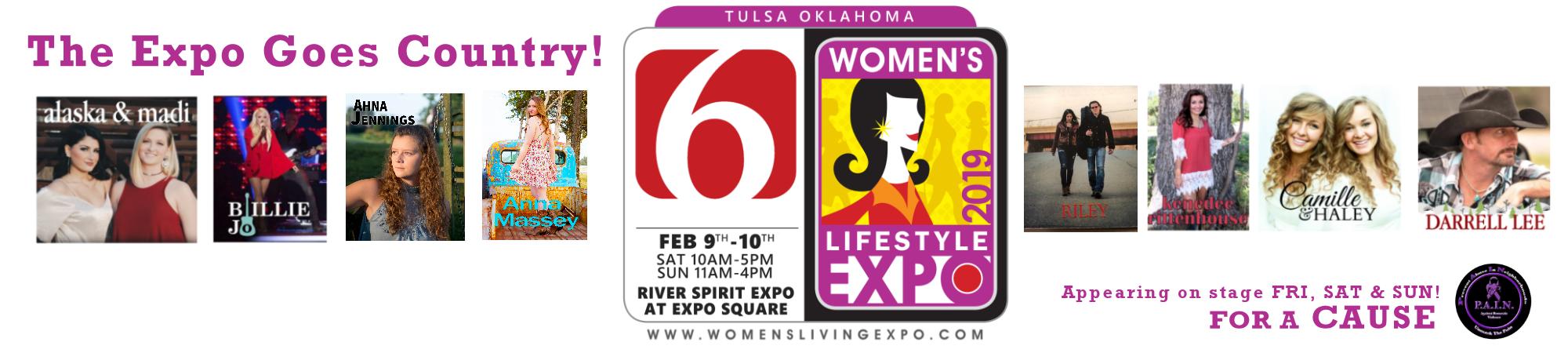 Tulsa Women's Lifestyle & Home Design Expo header image