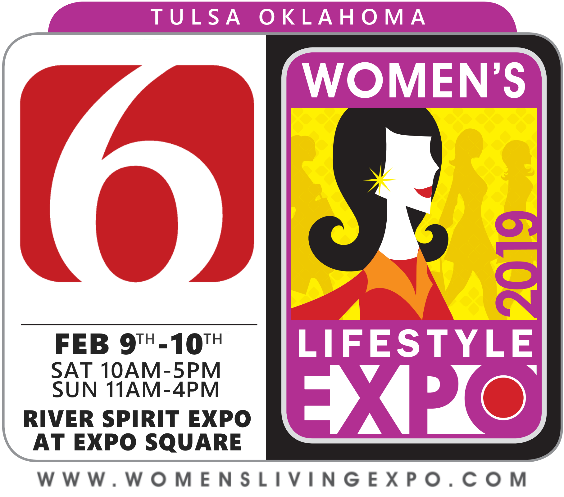 Logo for the Tulsa Women's Lifestyle Expo