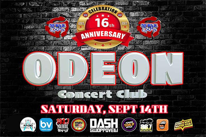 Odeon 16th Anniversary Promo