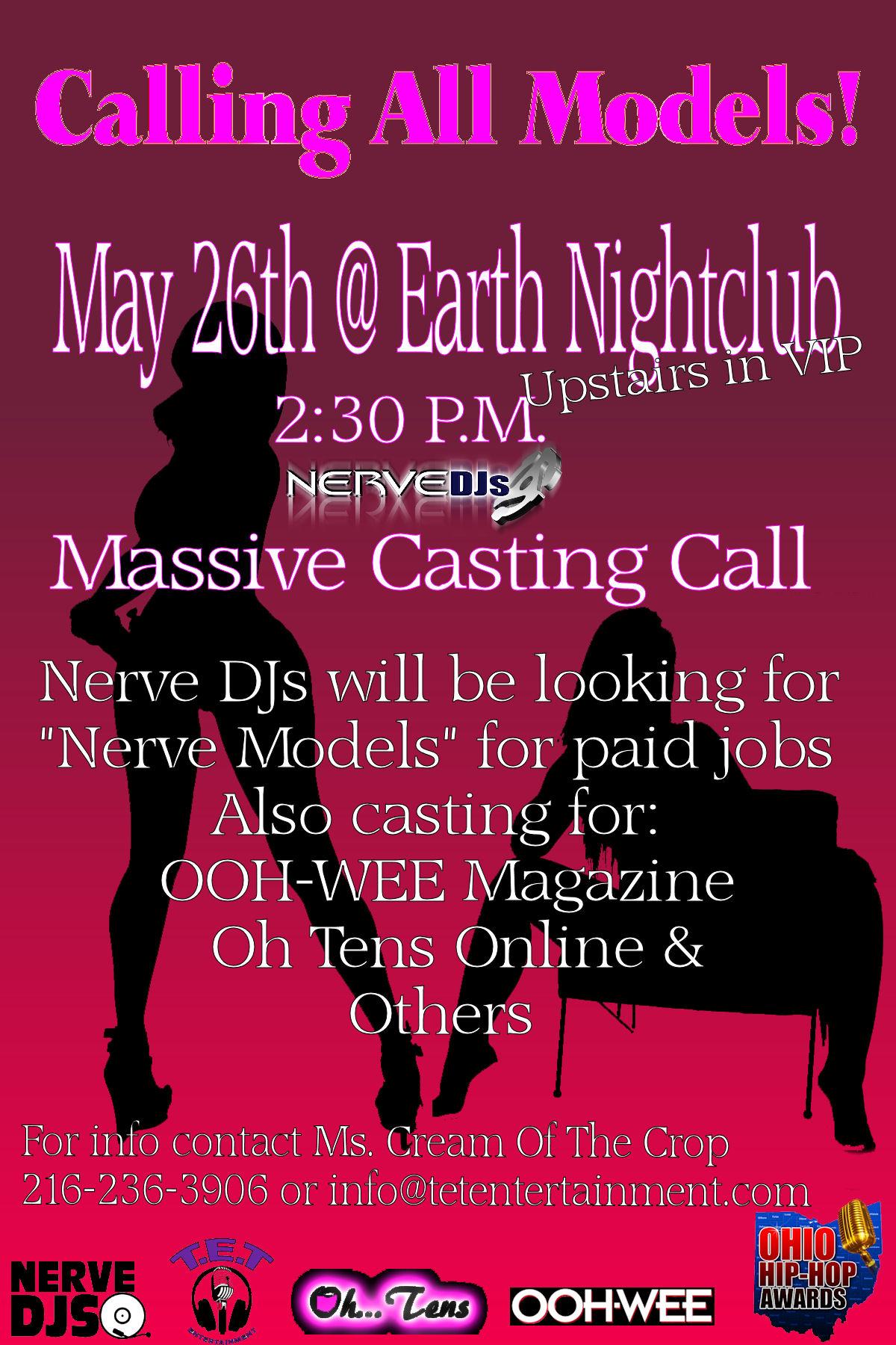 Models Casting Call Flyer
