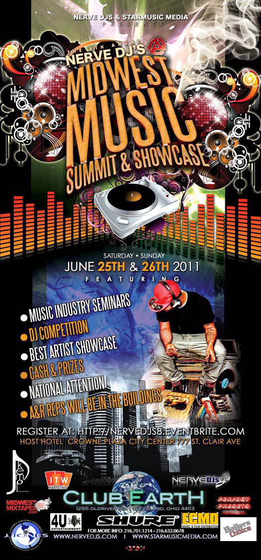 Midwest Music Summit Flyer