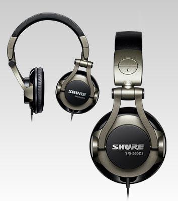 SHURE SRH550DJ Professional Headphones