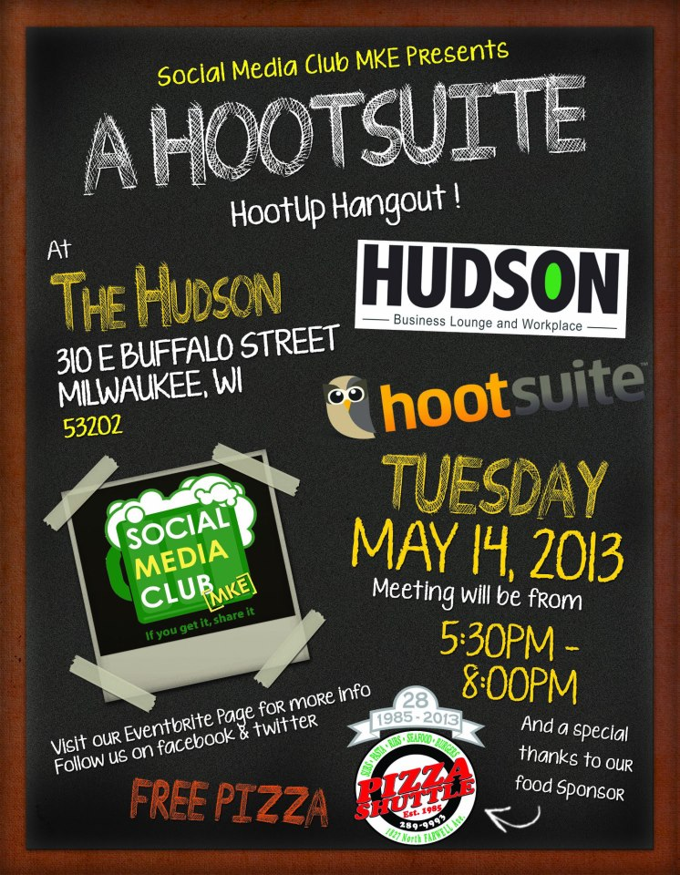 Social Media Club Milwaukee HootSuite HootUp