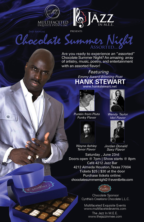 Chocolate Summer Night Flyer