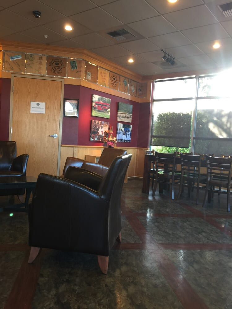Part of the lounge area, comfy chairs