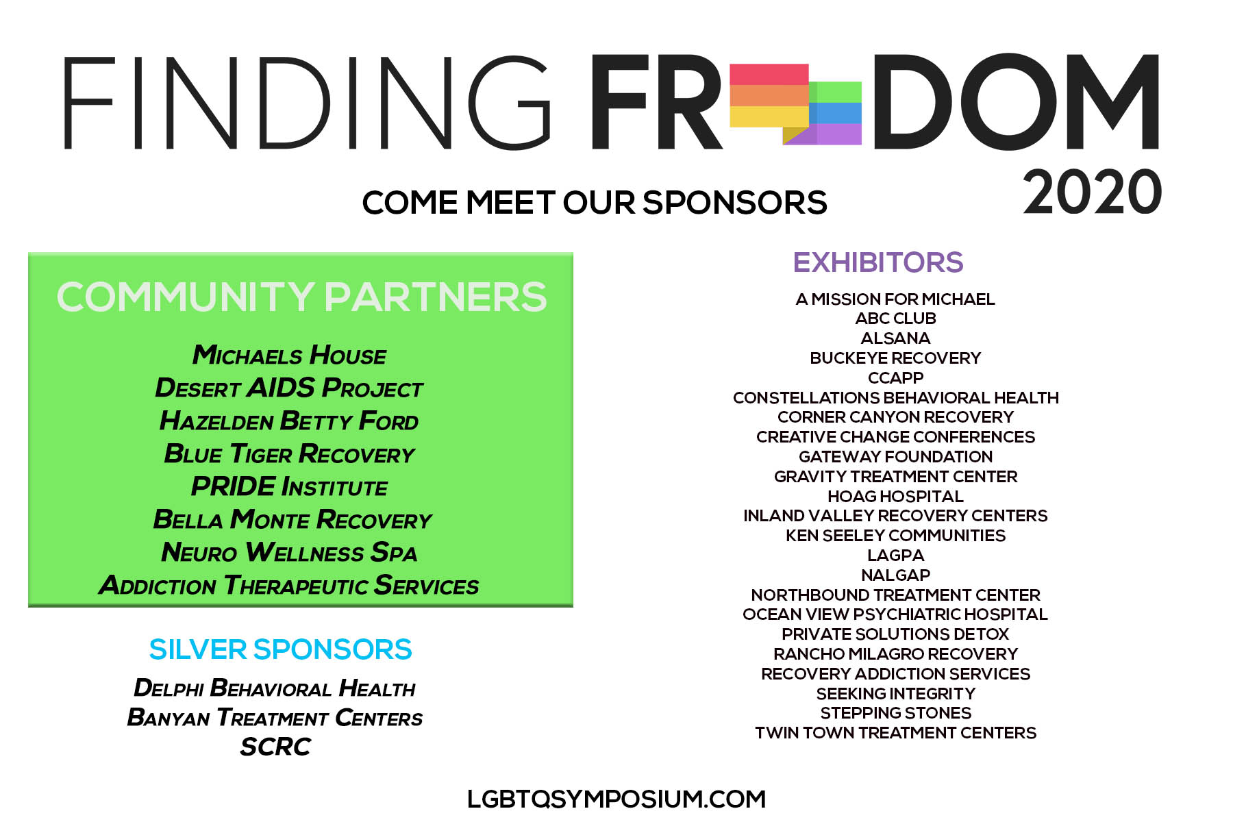 Finding Freedom LGBTQ Symposium
