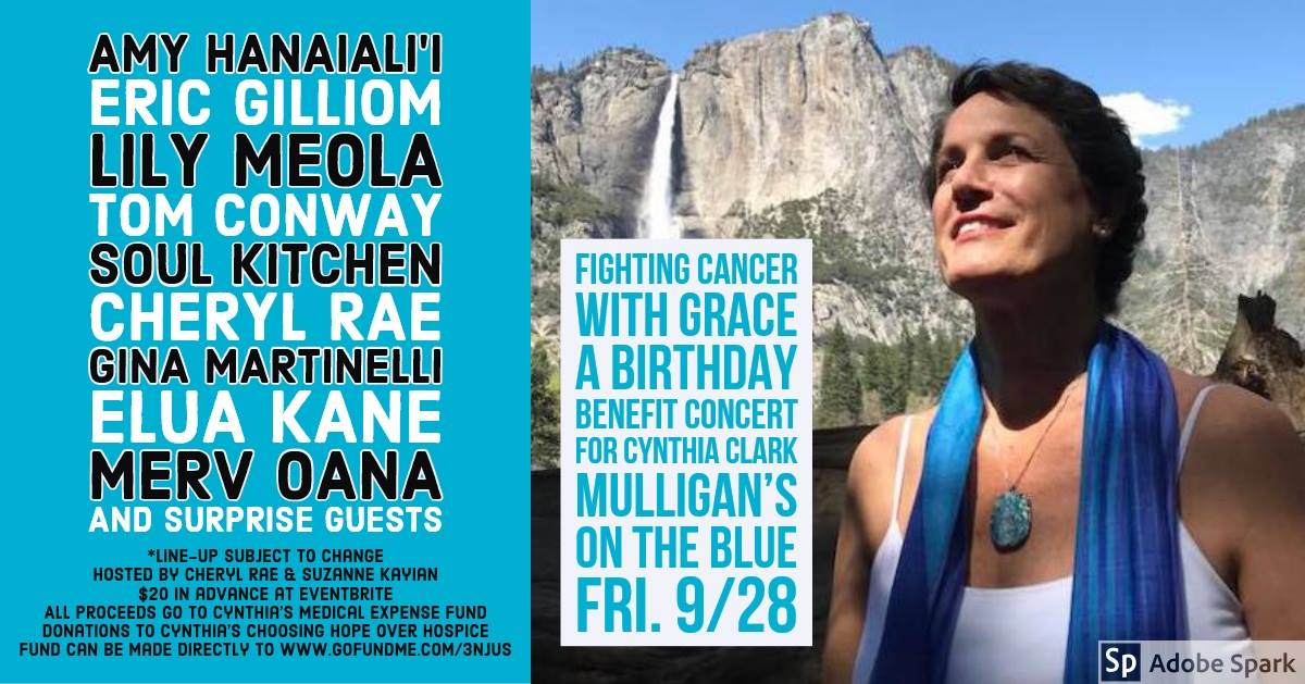Cynthia Clark's Birthday Benefit Concert