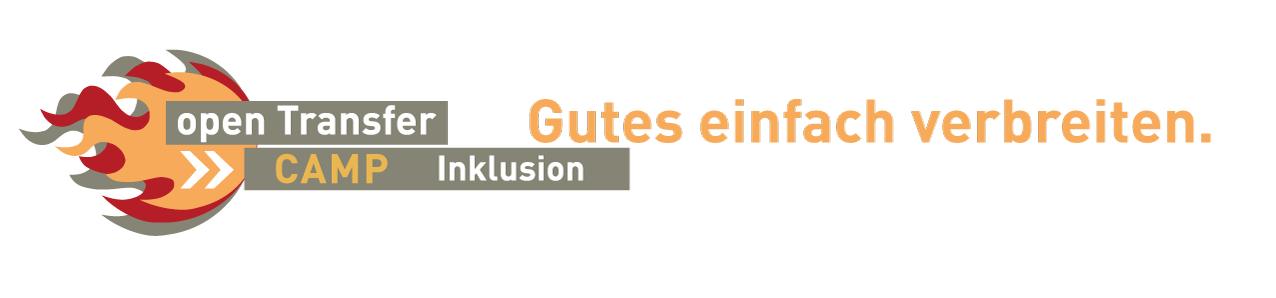 Das Logo vom openTransfer CAmp Inklusion