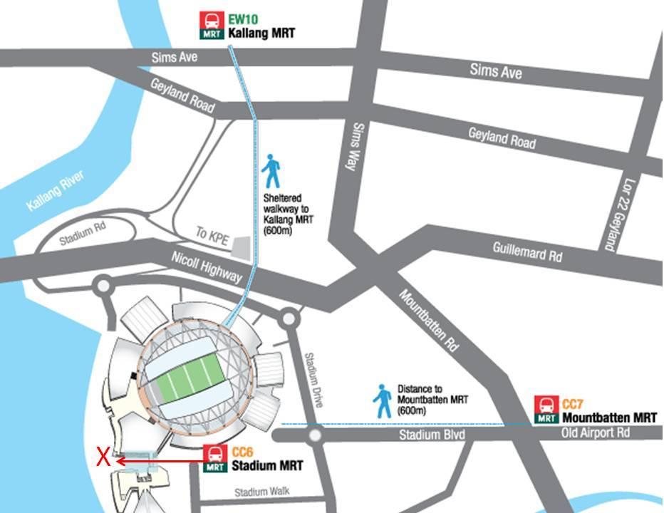 Singapore Sports Hub Retail and Waterfront