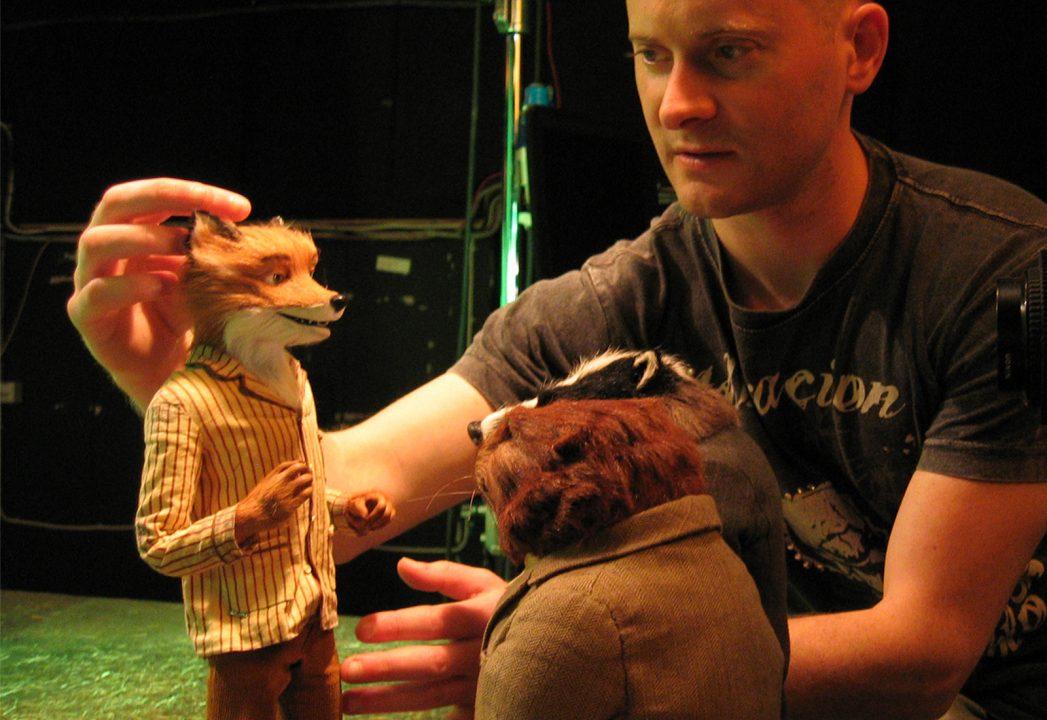 Fantastic Mr Fox makes his trademark gesture