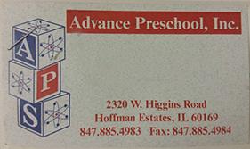 Advanced Pre-School HOffman Estates