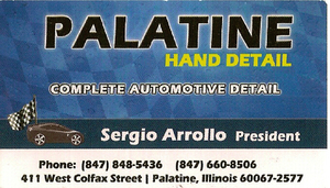 Palatine Hand Detail, Palatine, Illinois