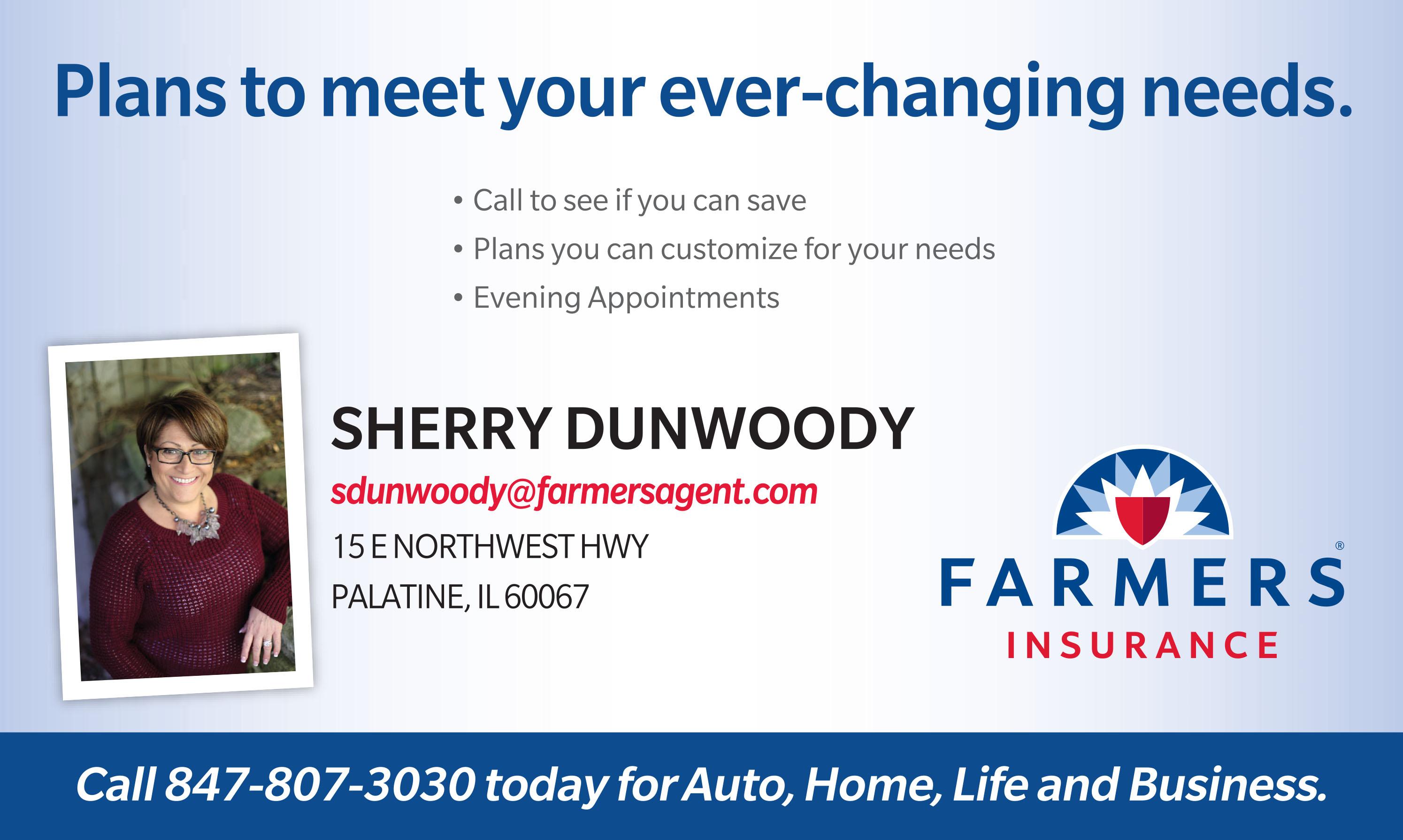Sherry Dunwoody Farmer's Insurance