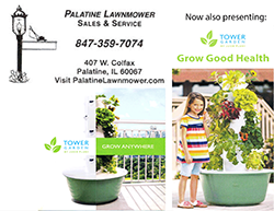 Palatine Lawnmower Repair and Tower Garden Distributor