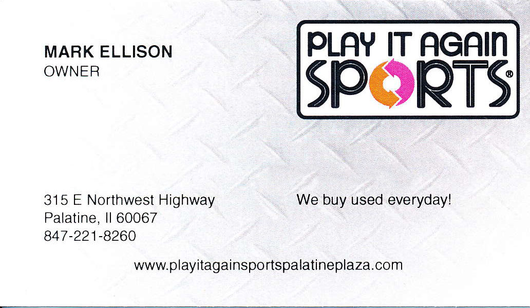 Play it again sports Palatine Plaza