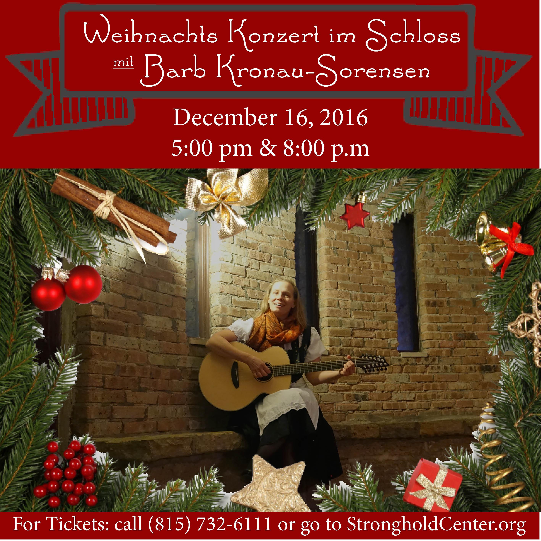Wiehnachts Konzert im Schloss mit Barb Kronau-Sorensen