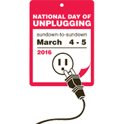 National Day of Unplugging Logo