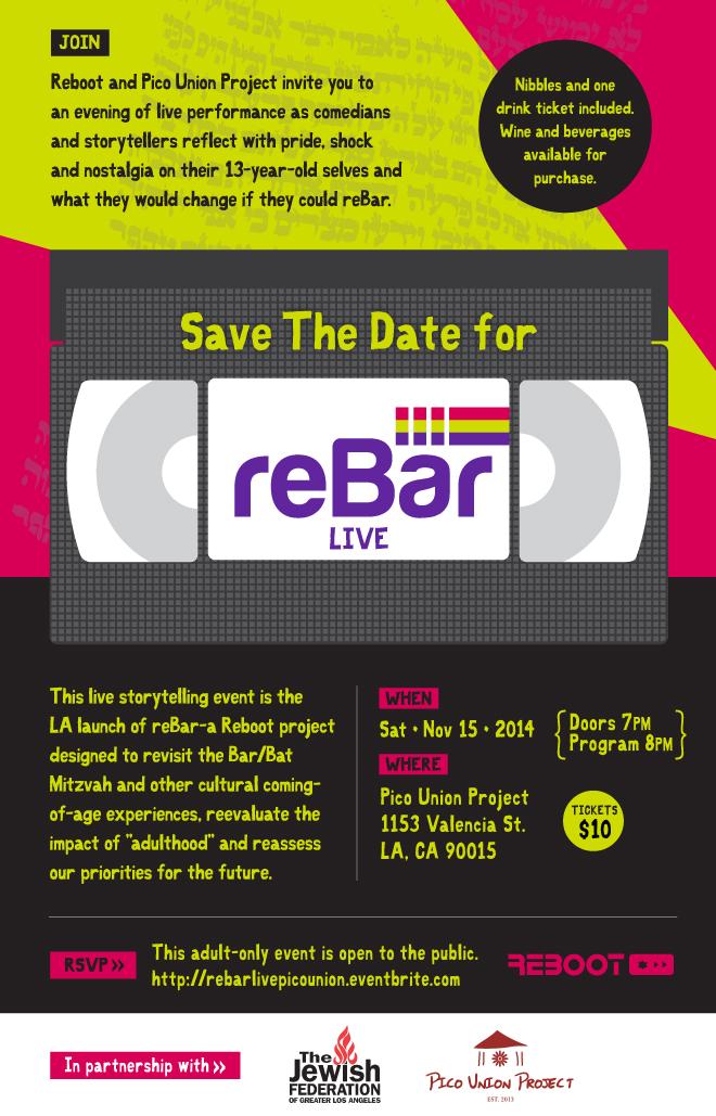 reBar Save the Date